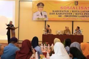 Wujudkan Lampung Jadi Provinsi Layak Anak dan Peduli HAM