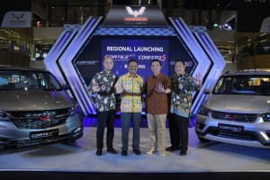 Wuling Kenalkan Cortez CT dan Confero S ACT di Bandung