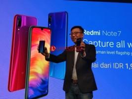 Xiaomi Redmi Note 7 Resmi Meluncur