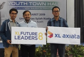 XL Future Leader Sasar Mahasiswa Aceh