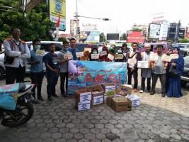 Yatim Mandiri Lampung dan Relawan Galang Aksi Solidaritas