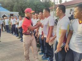Yonif 7 Marinir Lepas Atlet yang Akan Berlaga di Surabaya