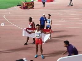 Zohri Raih Medali Perak di Kejuaraan Asia