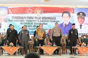 Zulkifli Anwar Sosialisasi 4 Pilar Kebangsaan di Pesawaran