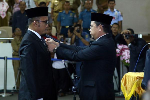 LAMPUNG POST | Agus BN Resmi Gantikan Posisi Hazizi di DPRD Lampung