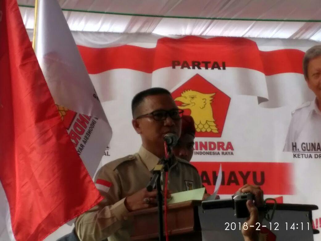 HUT ke-10 Partai Gerindra di Tubaba Usung 3 Agenda Politik