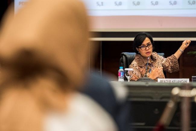 LAMPUNG POST | Sri Mulyani Tagih Janji Repatriasi Dana di Luar Negeri