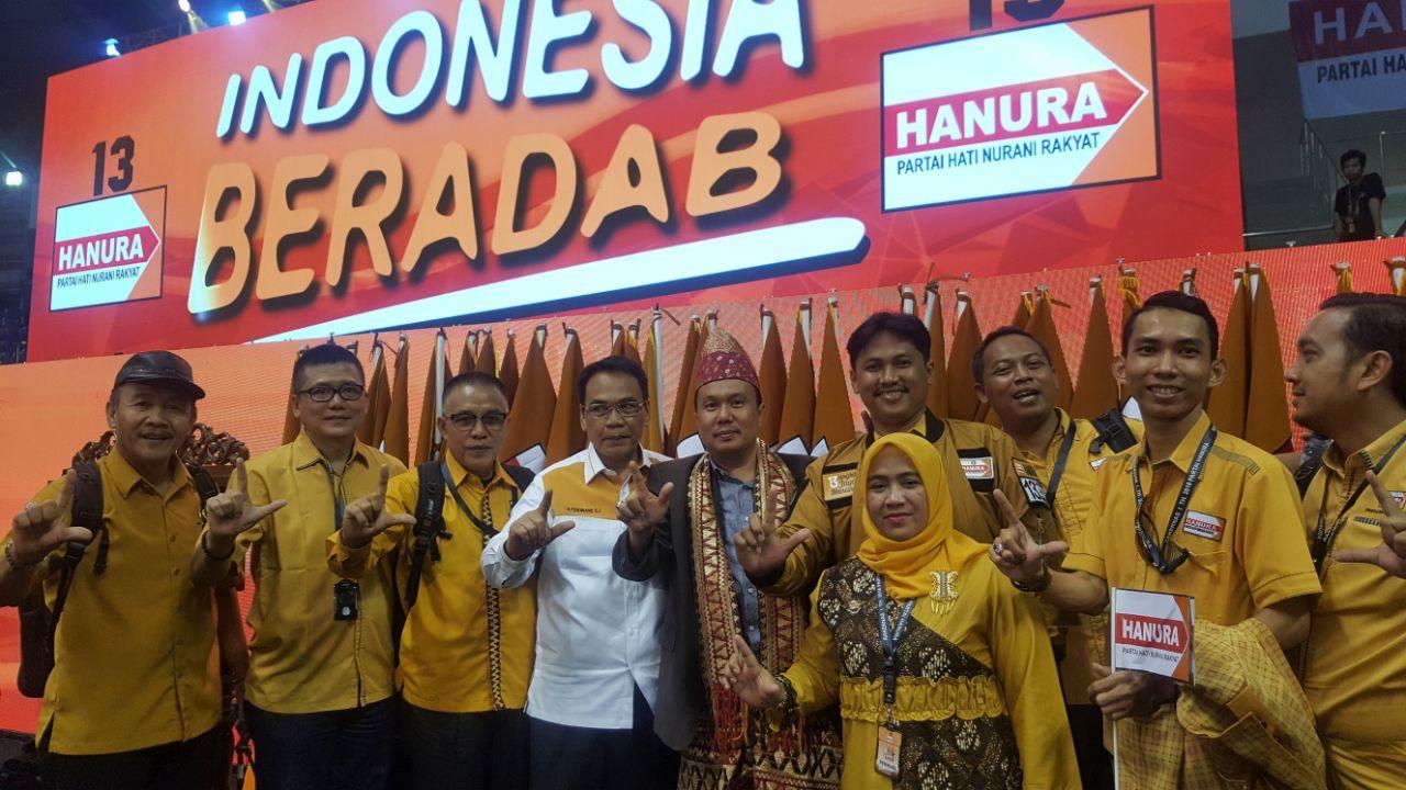 Hanura Lampung Boyong Pasukan Ikuti Rakernasdi Pekanbaru