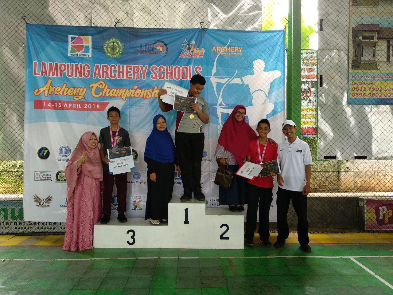 126 Peserta Ikuti Turnamen Panahan Lampung Archery Schools