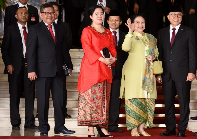 Sejumlah Tokoh Nasional Hadiri Sidang Tahunan MPR