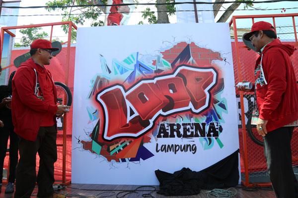 Telkomsel Resmi Hadirkan Arena LOOP Lampung