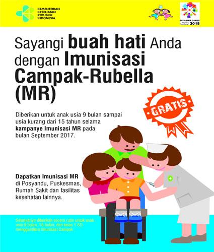 Dinkes Lampung Barat Sosialisasi Imunisasi MR