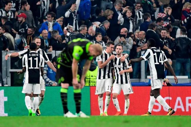 LAMPUNG POST | Juventus Susah Payah Tundukkan Sporting