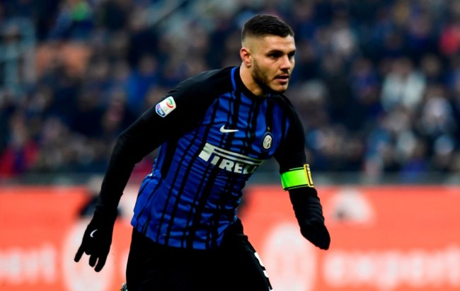 Madrid Incar Striker Inter Milan