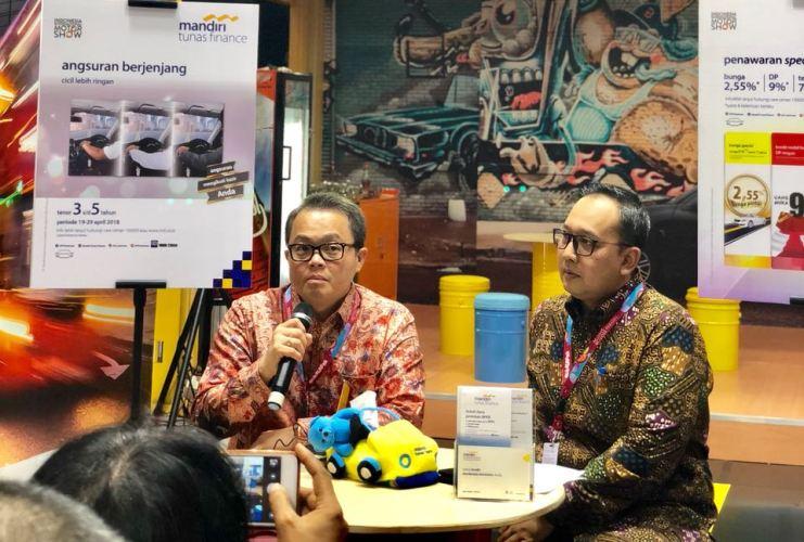 LAMPUNG POST | Mandiri Tunas Finance Usung Produk Angsuran Berjenjang di IIMS 2018