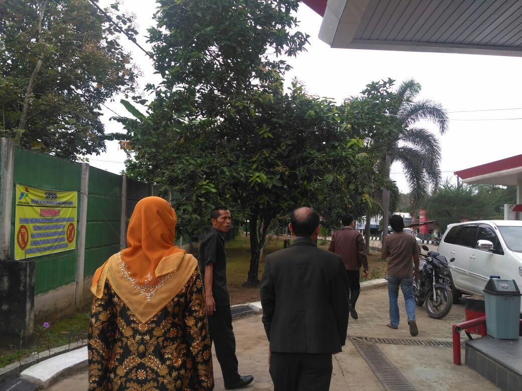 LAMPUNG POST | DPRD Tubaba Temukan Penyimpangan SPBU 109 Kalimiring