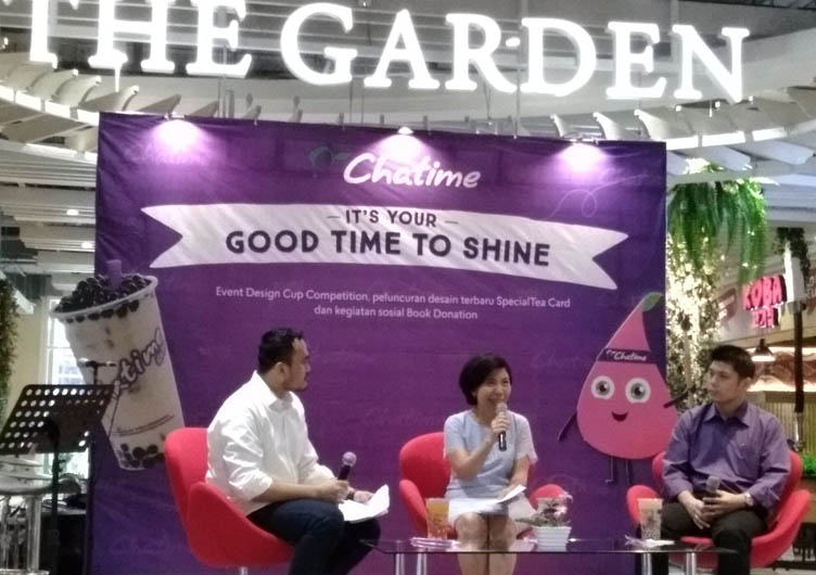 Chatime Gelar Design Cup Competition