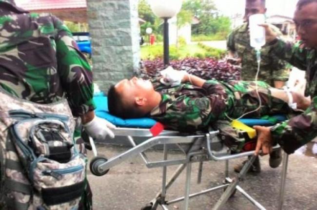 LAMPUNG POST | Jenazah Empat Prajurit TNI Korban Ledakan Meriam Dipulangkan