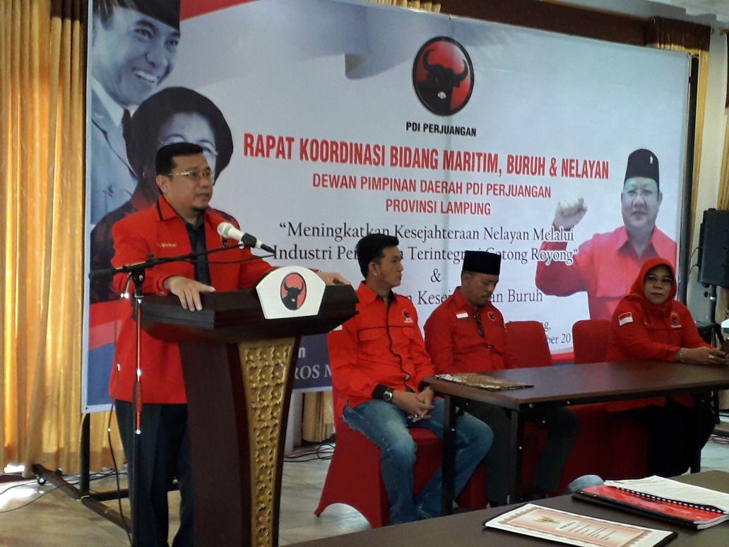 LAMPUNG POST | PDIP Upayakan Tingkatkan Kesejahteraan Nelayan dan Buruh