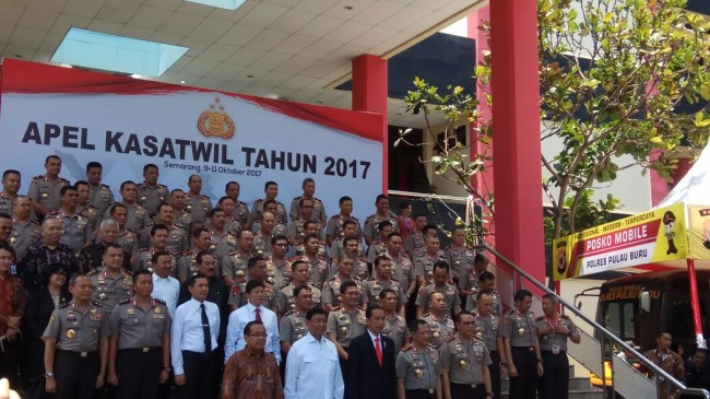 LAMPUNG POST | Jokowi: Polri Harus Jaga Tensi Politik Selama Pilkada Serentak