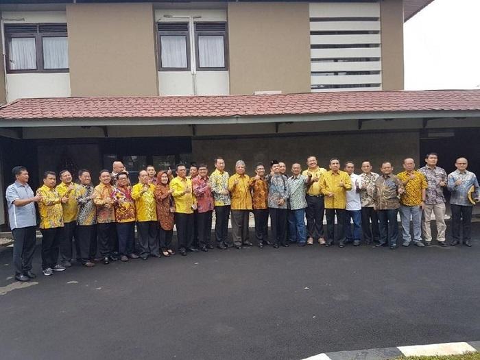 Arinal Ikuti Safari Politik Temui Jokowi di Istana Bogor