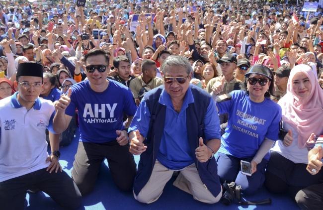 LAMPUNG POST | Agus Yudhoyono Dipersiapkan untuk Pilpres 2019