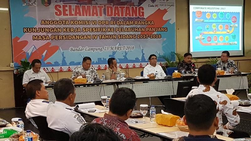 LAMPUNG POST | Komisi VI DPR RI Kunker ke IPC Panjang