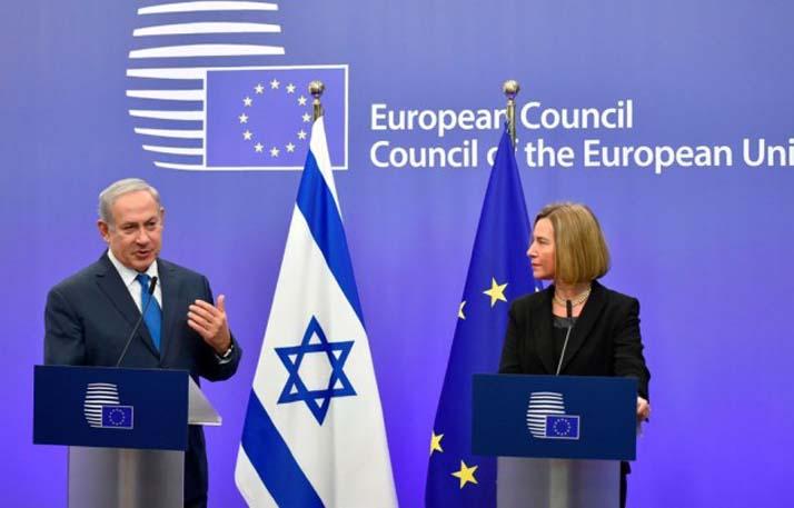 LAMPUNG POST | Dihadapan PM Israel, Uni Eropa Tolak Pengakuan Yerusalem