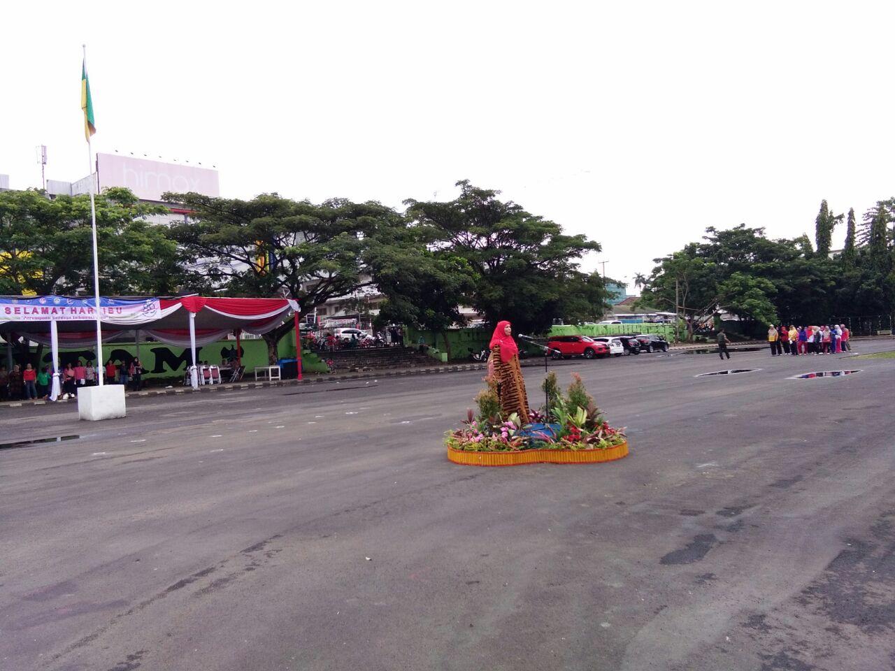 Tim PKK Kota Bandar Lampung Gelar Upacara Hari Ibu
