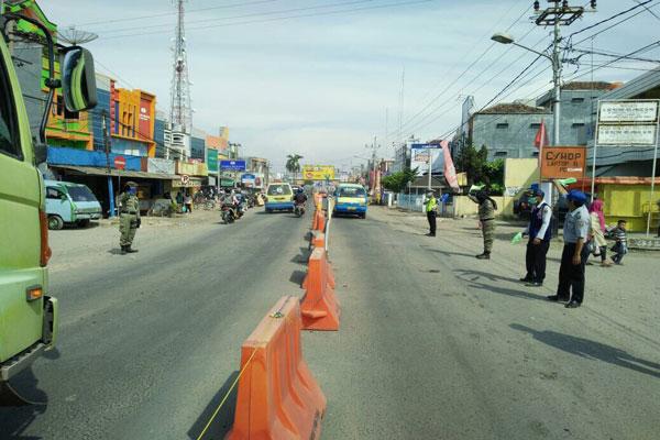 LAMPUNG POST | Pemkab Lampung Tengah Perlebar Jalan Bandarjaya-Gunung Sugih