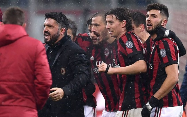 LAMPUNG POST | Meski Menang, Gattuso Belum Puas dengan Performa AC Milan