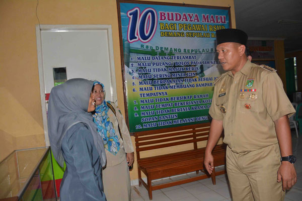 LAMPUNG POST | 4 Puskesmas Lampung Tengah Targetkan Akreditasi Paripurna