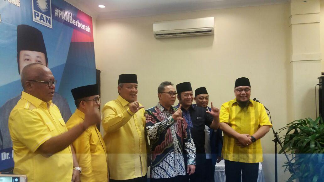 LAMPUNG POST   Zulkifli Hasan Yakinkan Masyarakat PAN Dukung Arinal