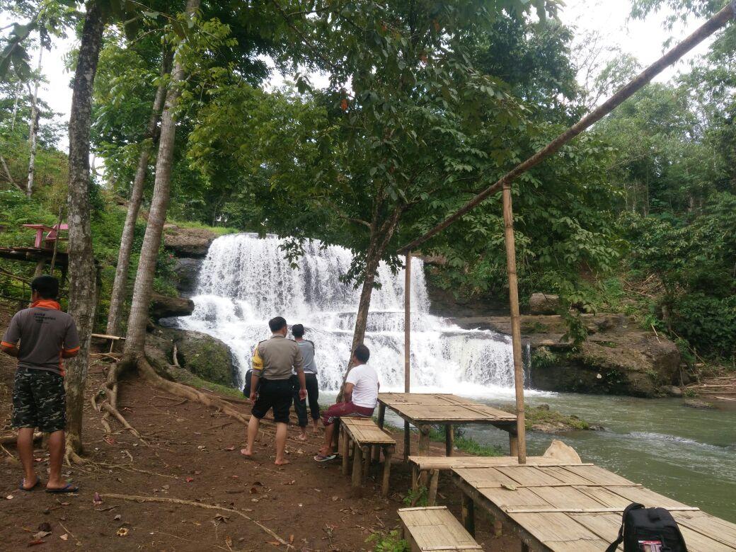 Curug Cangkah Kidau Potensi Wisata di Way Kanan