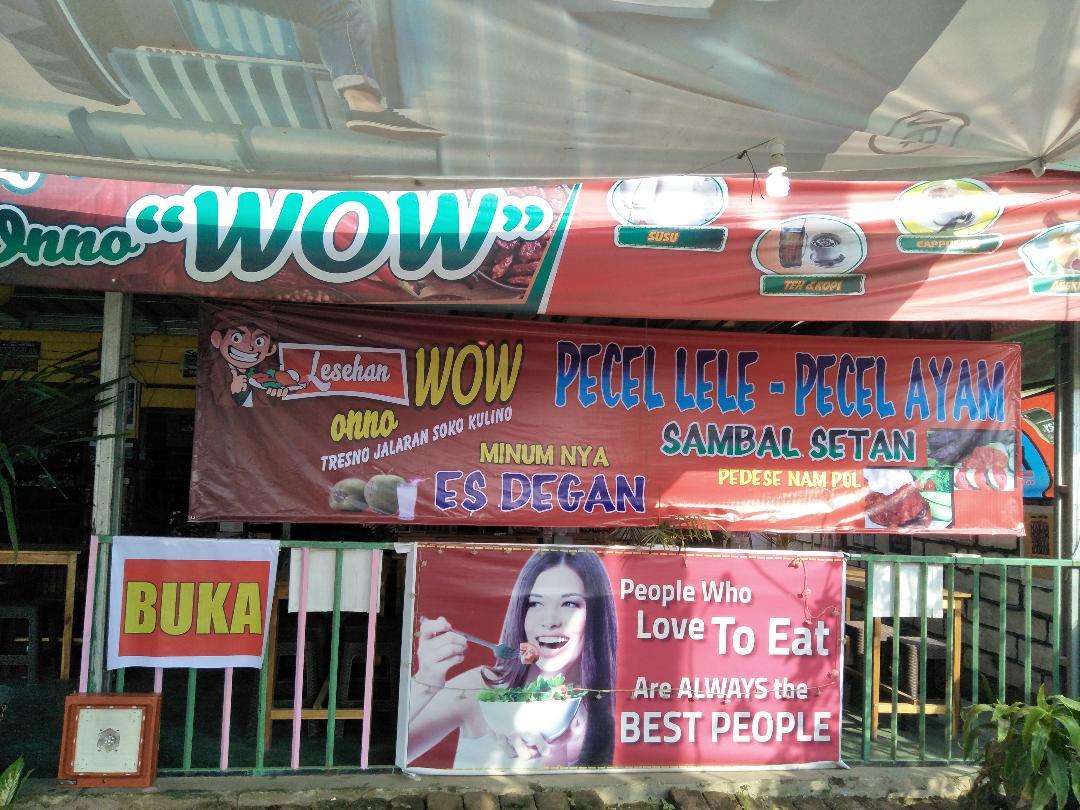 Lesehan Onno Wow Tawarkan Menu Baru