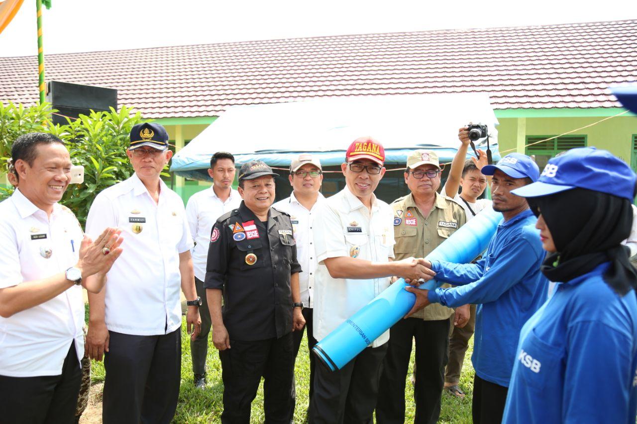 Desa Tanjung Tirto, Way Bungur Jadi Kampung Siaga Bencana
