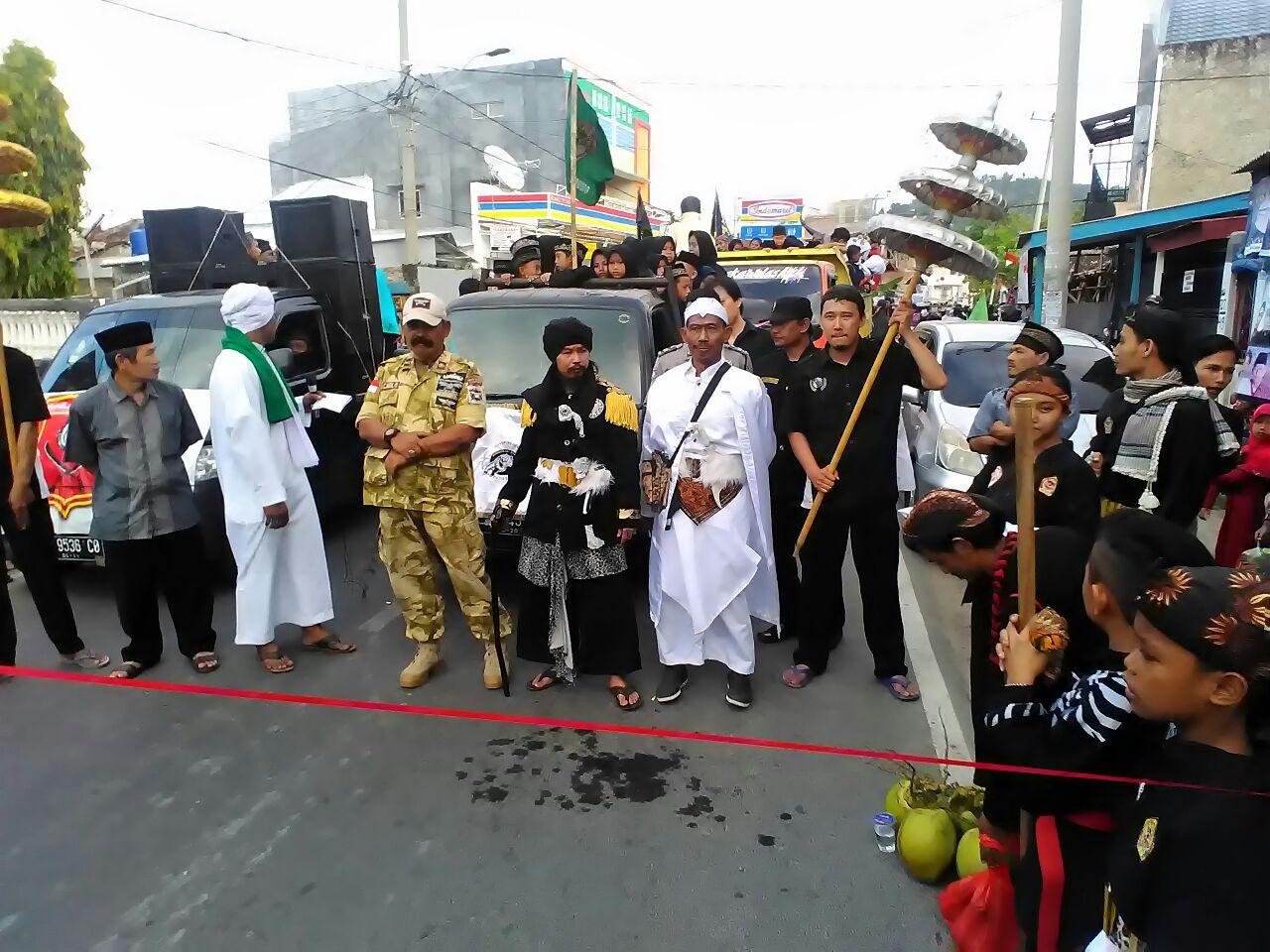 Warga Kunyit Rayakan Tahun Baru Islam dengan Kirab bersama Paguyuban Wanga Syailendra