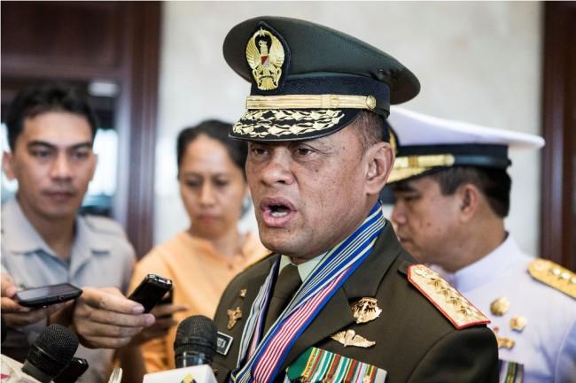 LAMPUNG POST | Jenderal Gatot Bantah akan Maju di Pilpres 2019