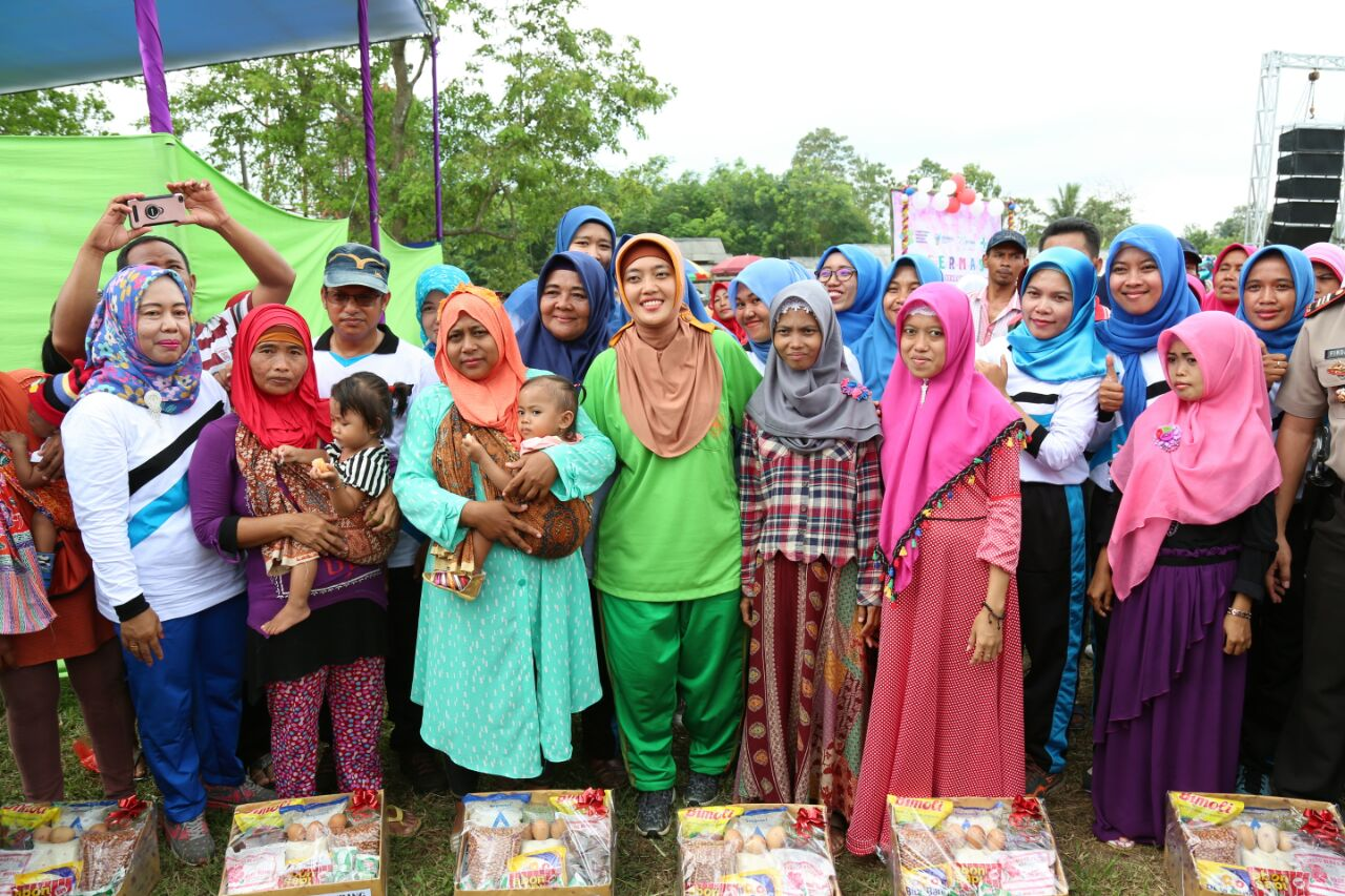 LAMPUNG POST | Dinkes Lampung Timur Adakan Germas di Waway Karya