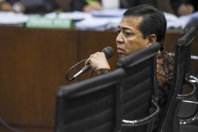 LAMPUNG POST | Setya Novanto Kembali Ajukan Gugatan Praperadilan