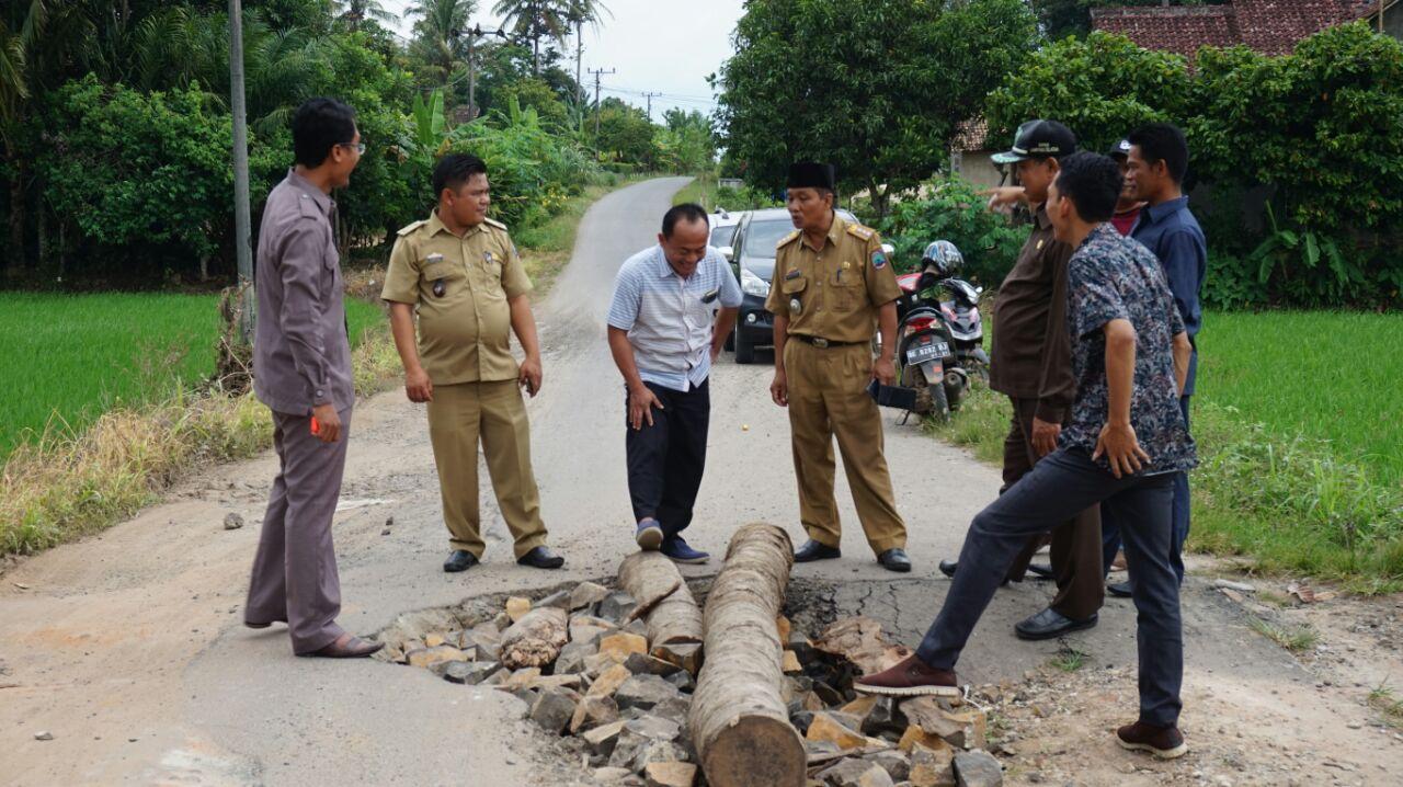 LAMPUNG POST | Gorong-gorong Ambrol di Candipuro Segera Diperbaiki