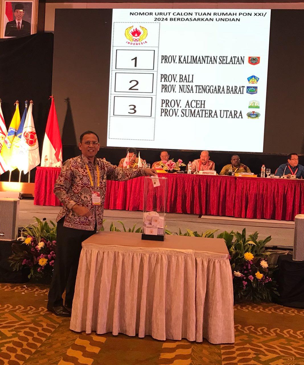LAMPUNG POST | Musornaslub Tetapkan Aceh-Sumut Tuan Rumah PON 2024
