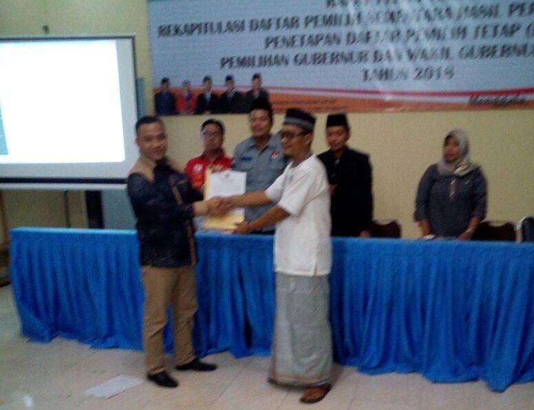 LAMPUNG POST | DPT di Tulangbawang Tercatat 251.200 Jiwa