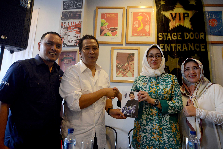 Ketua DPW NasDem Banten Luncurkan Buku Cita Politik Nuraniku