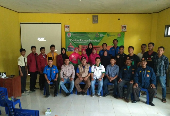 PMMD Pekon Bumi Arum Gelar Pelatihan Relawan Demokrasi