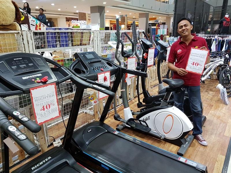 LAMPUNG POST | Pameran Peralatan Olahraga, Toko Kettler Berikan Diskon 40%