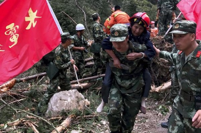 LAMPUNG POST | Korban Tewas Gempa Tiongkok Bertambah, Kerugian Mencapai Rp1,3 T