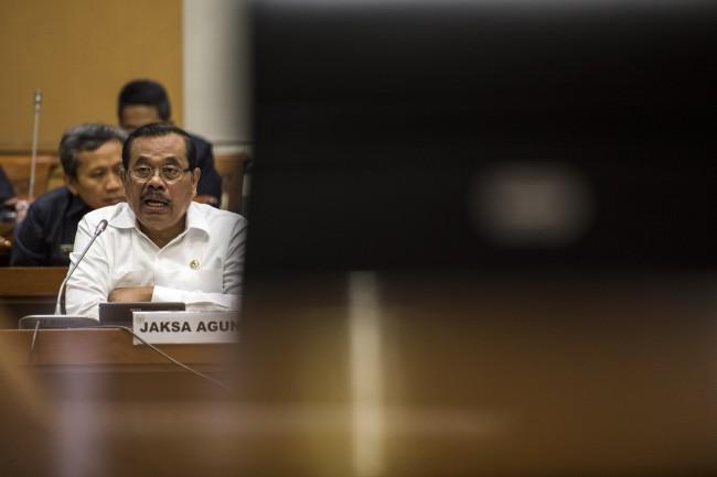 LAMPUNG POST | Jaksa Agung Bantah Recoki KPK