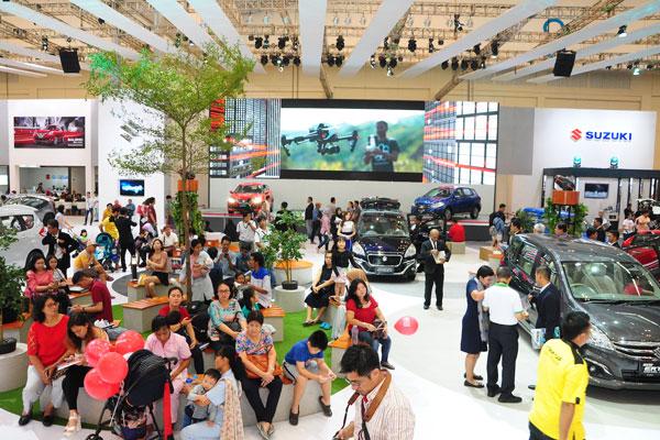 LAMPUNG POST | Suzuki Raih Juara Kedua Booth Favorit di GIIAS 2017