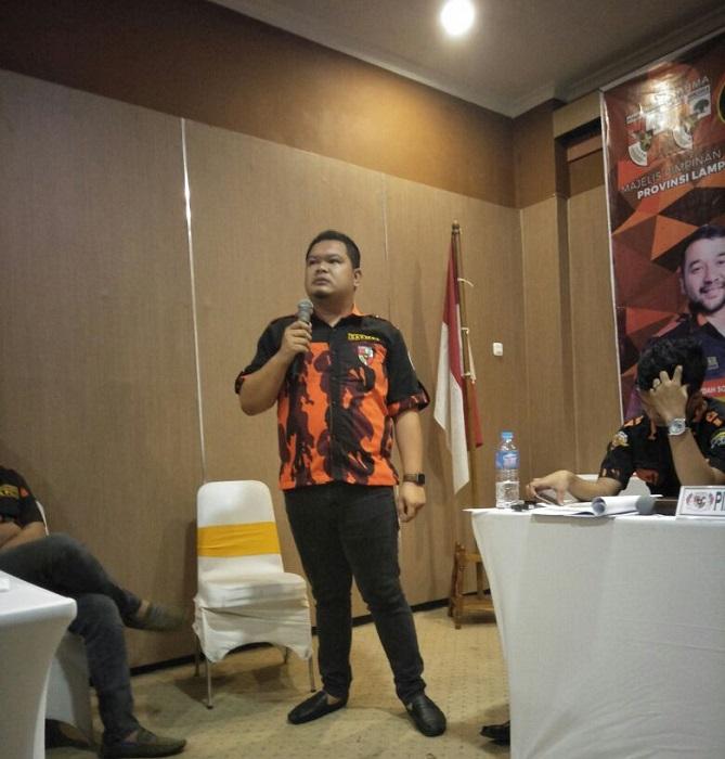 LAMPUNG POST | Affandi Pimpin Sapma Pemuda Pancasila